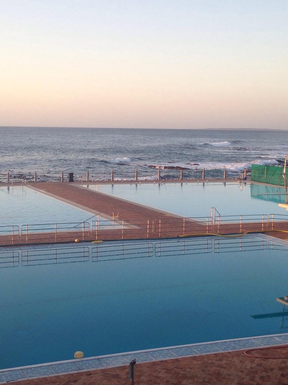 Salt Water Pool At Seaside Cape Town South Africa Bosu
