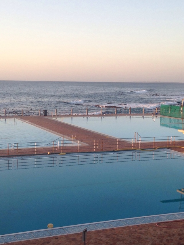 Taken by My Daughter Emma, 3 Hours Ago, Before Diving In --  Seaside Salt Water Pools, Cape Town, South Africa