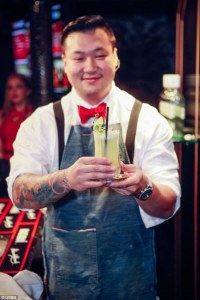 Bartender-Owner Ran Duan